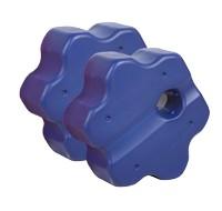 2er Set Cavaletti Rondo, blau, 60 x 68 x 35 cm