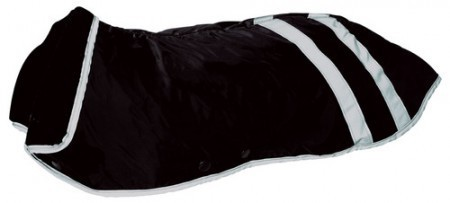 Hunter Hundemantel Safety, schwarz