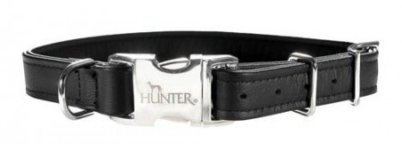 Hunter Halsband Toledo Alu-Strong, schwarz