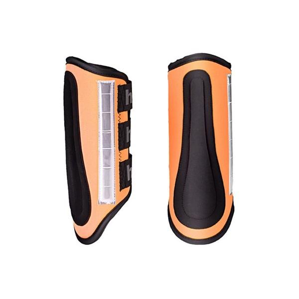 Horze Reflex Gamaschen, orange