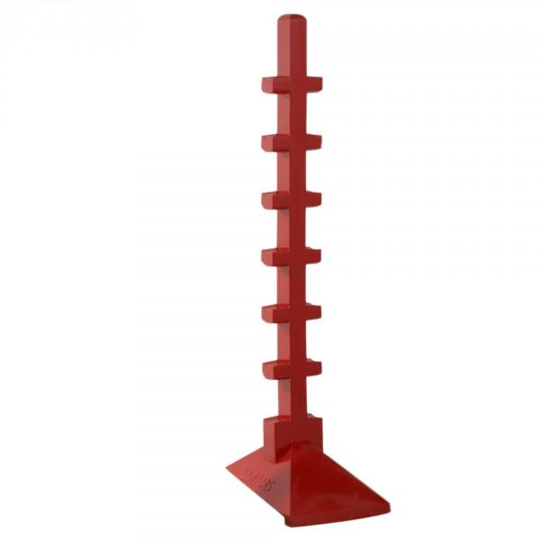 Sprungständer, rot, Höhe ca. 166 cm, Gewicht ca. 7 kg