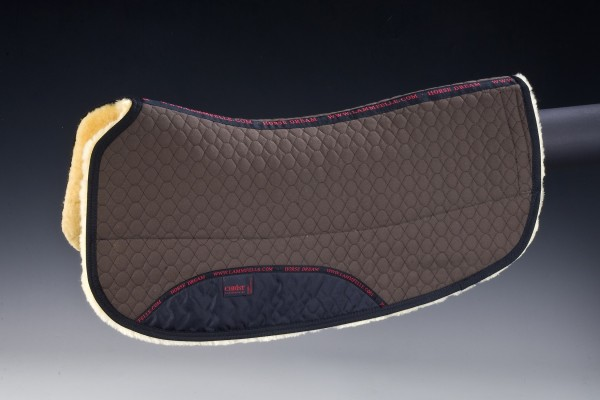"CHRIST Lammfell Westernpad ""Roundskirt"", 70 cm (28""), Lammfellunterseite 20 mm"