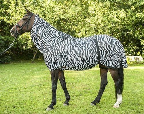 HKM Ekzemerdecke Zebra inkl. Halsteil 155cm