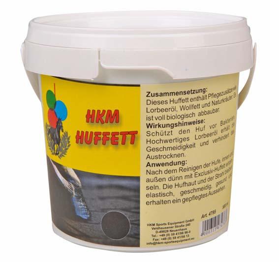 Exclusiv-Huffett, schwarz