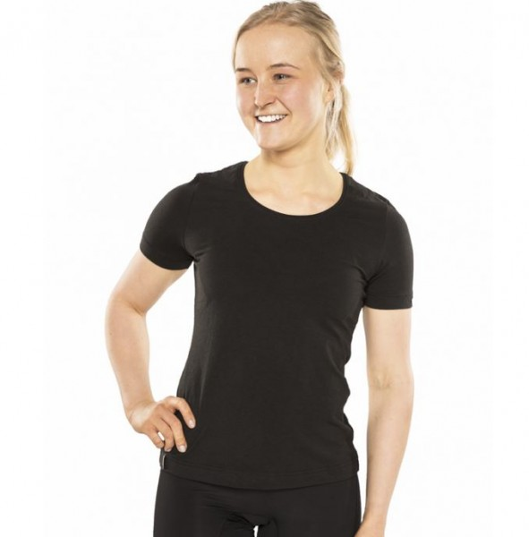 "Back on Track T-Shirt ""Maria Tee"", schwarz"