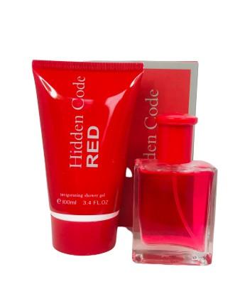 "Geschenkset ""Hidden Code Red"" EdT 30ml, Duschgel 100ml Pflegeprodukte Parfum"
