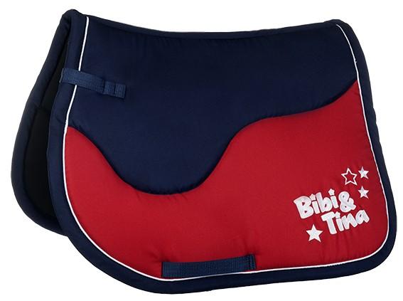 "Bibi & Tina Schabracke ""Red"", Pony Dressur"