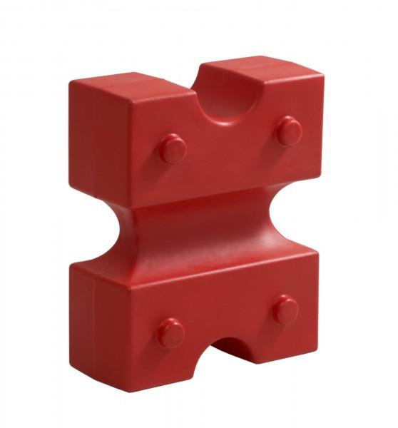 Cavaletti Knuffi, rot, 55 x 44 x 22 cm