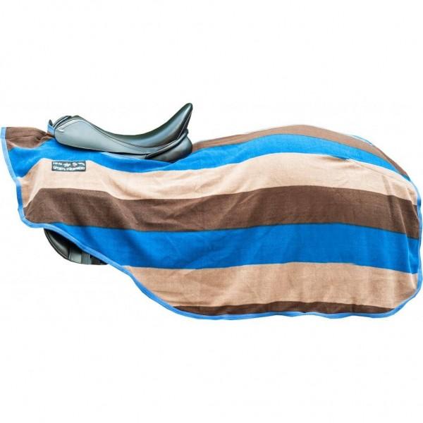 """Nieren-/Abschwitzdecke """"Colour stripes"""", mit Klett"""