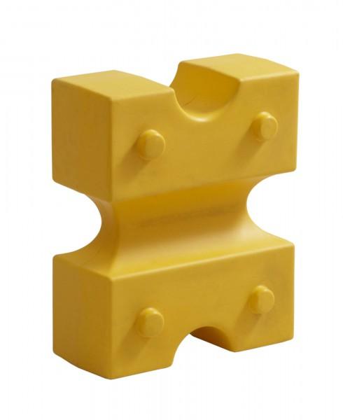 Cavaletti Knuffi, gelb 55 x 44 x 22 cm