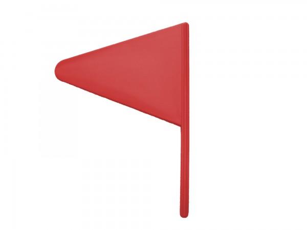 Hindernisfähnchen in rot, inkl. Halter