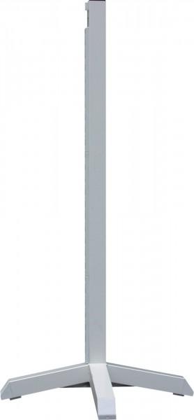 Sprungständer, weiß, Aluminium
