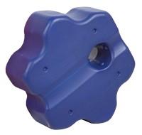 Cavaletti Rondo, blau, 60 x 68 x 35 cm