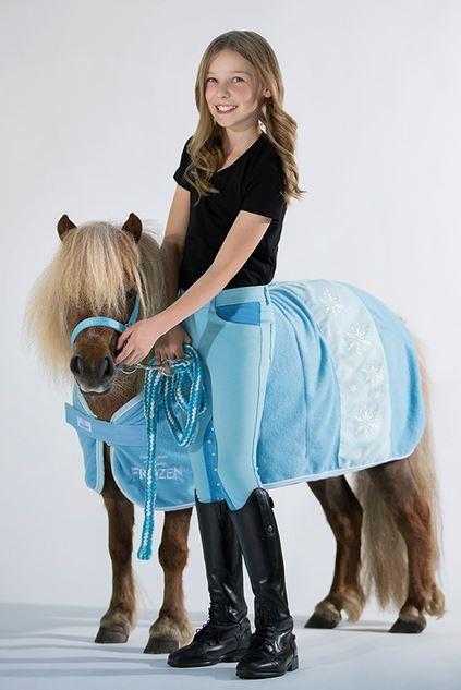 abschwitzdecke disney frozen snowflake skyblue pferdesport reitsport. Black Bedroom Furniture Sets. Home Design Ideas