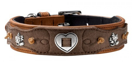 Hunter Halsband Tradition, cognac