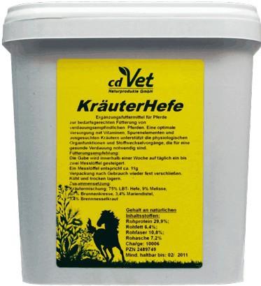 Kräuter Hefe