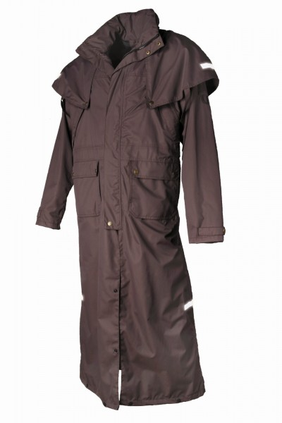 Reitmantel Mossman Coat, braun