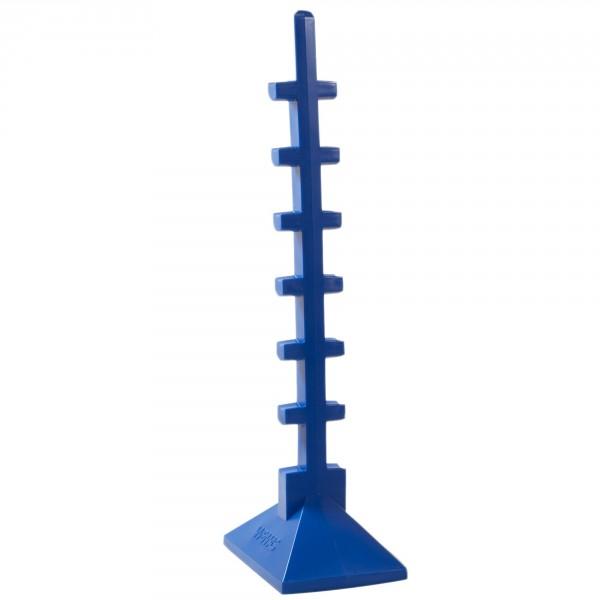Sprungständer, blau, Höhe ca. 166 cm, Gewicht ca. 7 kg