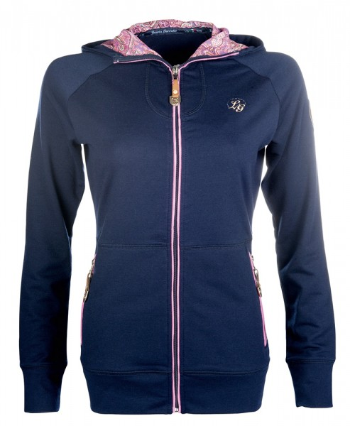 "Sweatjacke ""Queens"", Damen, dunkelblau"