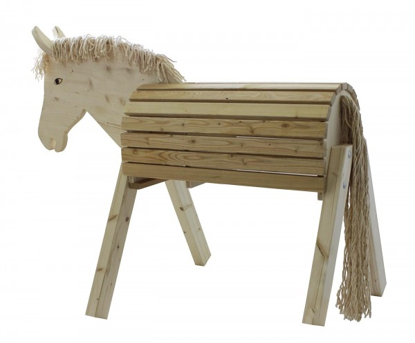 BUSSE Gartenpferd Susi, Holzpferd, 75 cm hoch