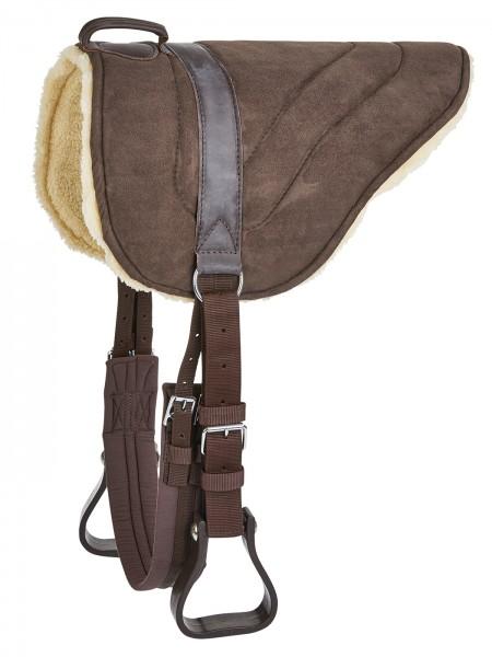 BUSSE Bareback-Pad Bodie, braun, 60 cm Rückenlänge