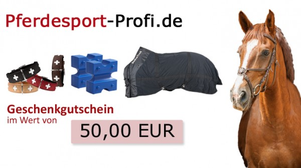 50 € - Geschenkgutschein in edler Verpackung