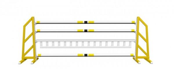 """Spring Trainingsparcours """"Light"""", Seitenteile farbig, Aluminium/Holz"""