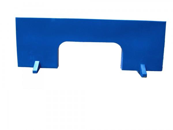 Wand für Sprungkombination, L 1360 mm x H 625 mm x T 90 mm. Mit Wasser befüllbar.