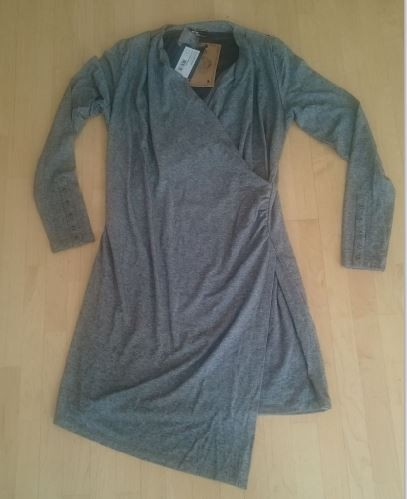 "HV Polo Dress ""Huxley"" Charcoal Melange M"